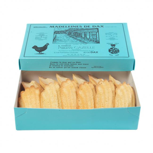 Boîtes de 12 Madeleines de DAX